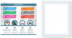 Gabarito - Adesivo Eletrostático - Gráfica Cores