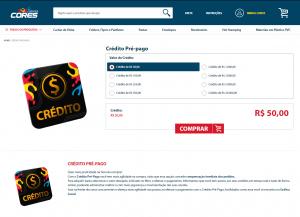 Como comprar - Categoria Crédito em Loja - Gráfica Cores