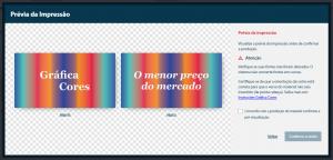 Como comprar - Prévia de Impressão - Gráfica Cores